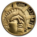 1986-W Gold $5 Commem Statue of Liberty Proof (Capsule Only)