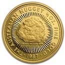 1987 Australia 1/2 oz Proof Gold Nugget