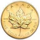 1987 Canada 1/2 oz Gold Maple Leaf BU