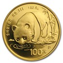 1987 China 1 oz Gold Panda Proof (In Capsule)