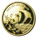 1987 China 1 oz Gold Panda Proof New Orleans (In Capsule)