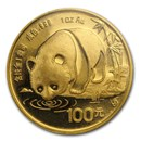 1987 China 1 oz Gold Panda Proof (Sealed)