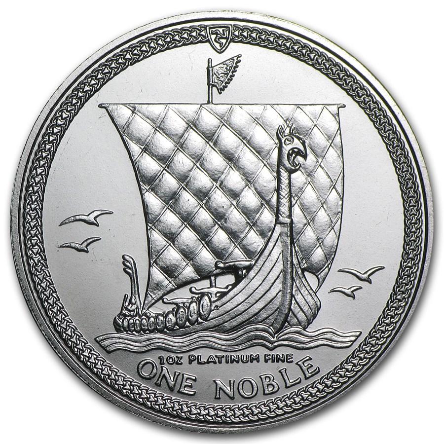 1987 Isle of Man 1 oz Platinum Noble BU or Proof
