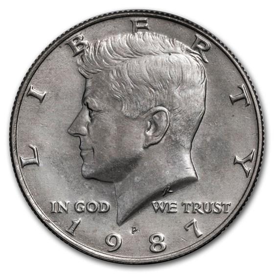 1987-P Kennedy Half Dollar BU