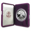 1987-S 1 oz Proof American Silver Eagle (w/Box & COA)