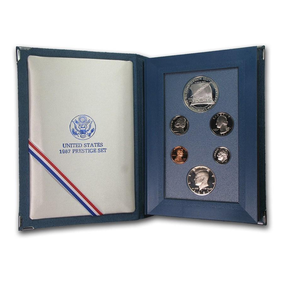 1987-S U.S. Mint Prestige Proof Set