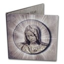 1987 Vatican City Virgin Mary 7-Coin Set BU