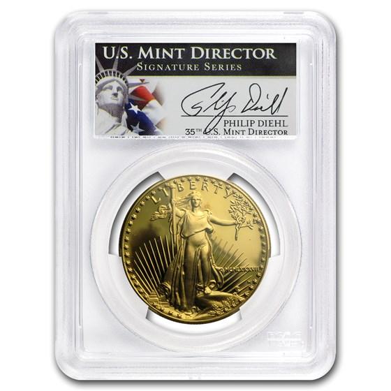 1987-W 1 oz Proof American Gold Eagle PR-70 PCGS