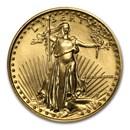 1988 1/4 oz Gold American Eagle BU (MCMLXXXVIII)