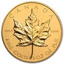 1988 Canada 1 oz Gold Maple Leaf BU