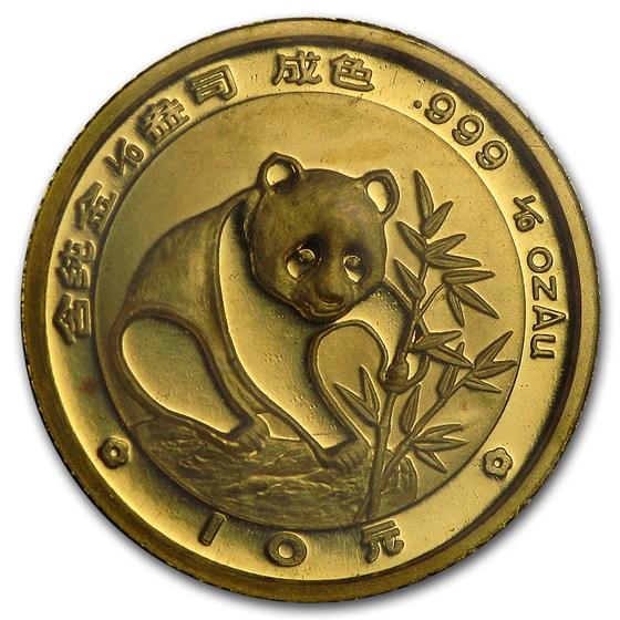 1988 China 1/10 oz Gold Panda BU (Sealed)
