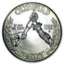 1988-D Olympic $1 Silver Commem BU (Capsule Only)