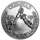 1988-D Olympic $1 Silver Commem BU (w/Box & COA)