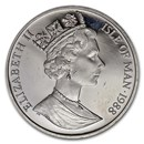 1988 Isle of Man 1 oz Platinum Noble BU or Proof