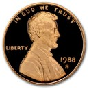 1988-S Lincoln Cent Gem Proof (Red)
