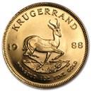 1988 South Africa 1 oz Gold Krugerrand