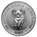 1989 Australia 1 oz Platinum Koala BU
