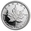 1989 Canada 1/10 oz Platinum Maple Leaf Proof