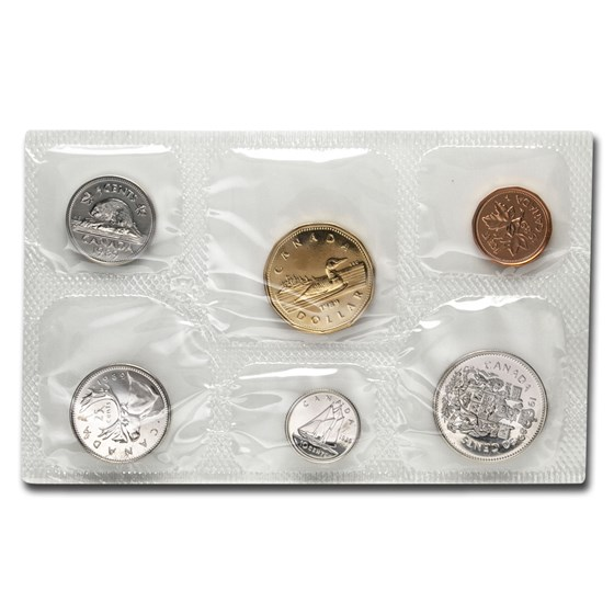 1989 Canada 6-Coin Proof Like Set