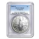 1989-D Congress Bicentennial $1 Silver Commem MS-69 PCGS