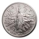 1989-D Congressional $1 Silver Commem BU (Box & COA)