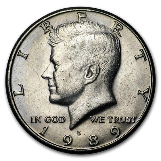 1989-D Kennedy Half Dollar BU
