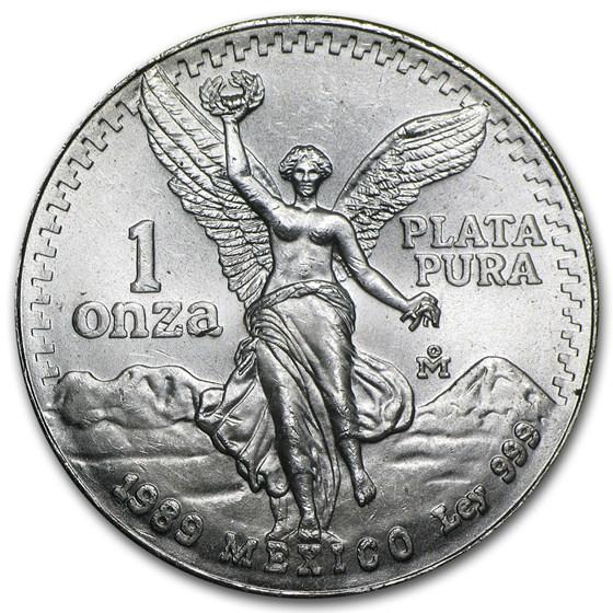 Buy 2001 Mexico 1 oz Silver Libertad BU | APMEX