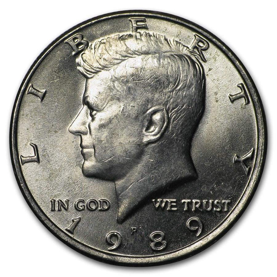 1989-P Kennedy Half Dollar BU