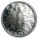 1989-S Congressional $1 Silver Commem Proof (Capsule Only)