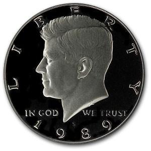 1989-S Kennedy Half Dollar Gem Proof