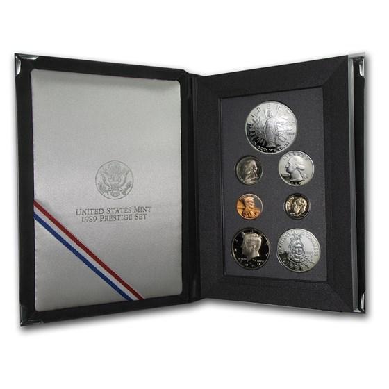1989-S U.S. Mint Prestige Proof Set
