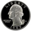 1989-S Washington Quarter Gem Proof