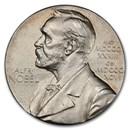 1989 Sweden Silver Medal Alfred Nobel SP-63 PCGS (Medicine)