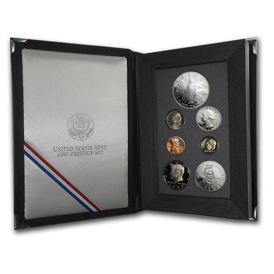 1989 U.S. Mint Prestige Set