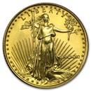 1990 1/4 oz Gold American Eagle BU (MCMXC)