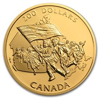 1990-2012 Canada 1/2 oz Proof Gold $200 (Random)