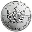 1990 Canada 1 oz Silver Maple Leaf BU