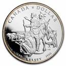 1990 Canada Silver Dollar BU (Henry Kelsey)