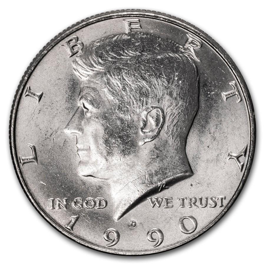 1990-D Kennedy Half Dollar BU