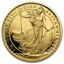1990 Great Britain 1/4 oz Proof Gold Britannia