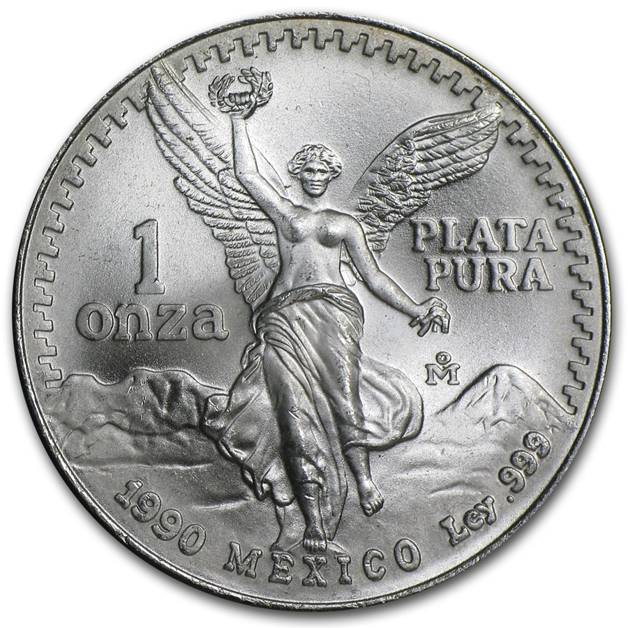 Buy 1991 Mexico 1 oz Silver Libertad BU (Type 2) | APMEX
