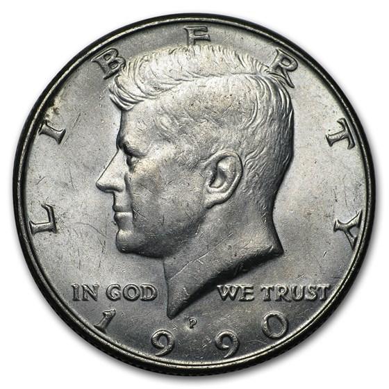 1990-P Kennedy Half Dollar BU