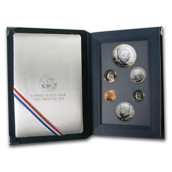 1990-S U.S. Mint Prestige Proof Set