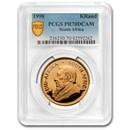 1990 South Africa 1 oz Proof Gold Krugerrand PR-70 PCGS