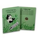 1991 China 1 gram Gold Panda 3 Yuan BU (w/card)