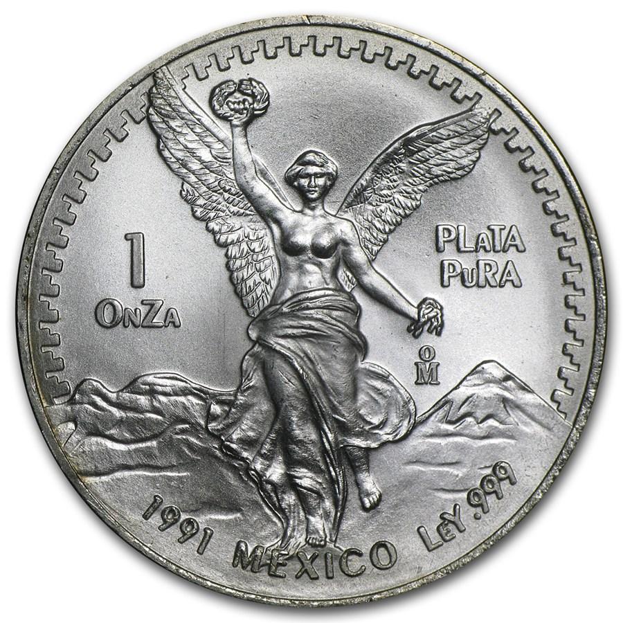 Buy 2016 1/2 oz Mexican Silver Libertads (.999, BU