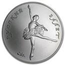 1991 Russia 1 oz Palladium Ballerina BU