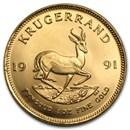 1991 South Africa 1 oz Gold Krugerrand
