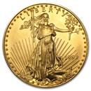 1992 1 oz Gold American Eagle BU