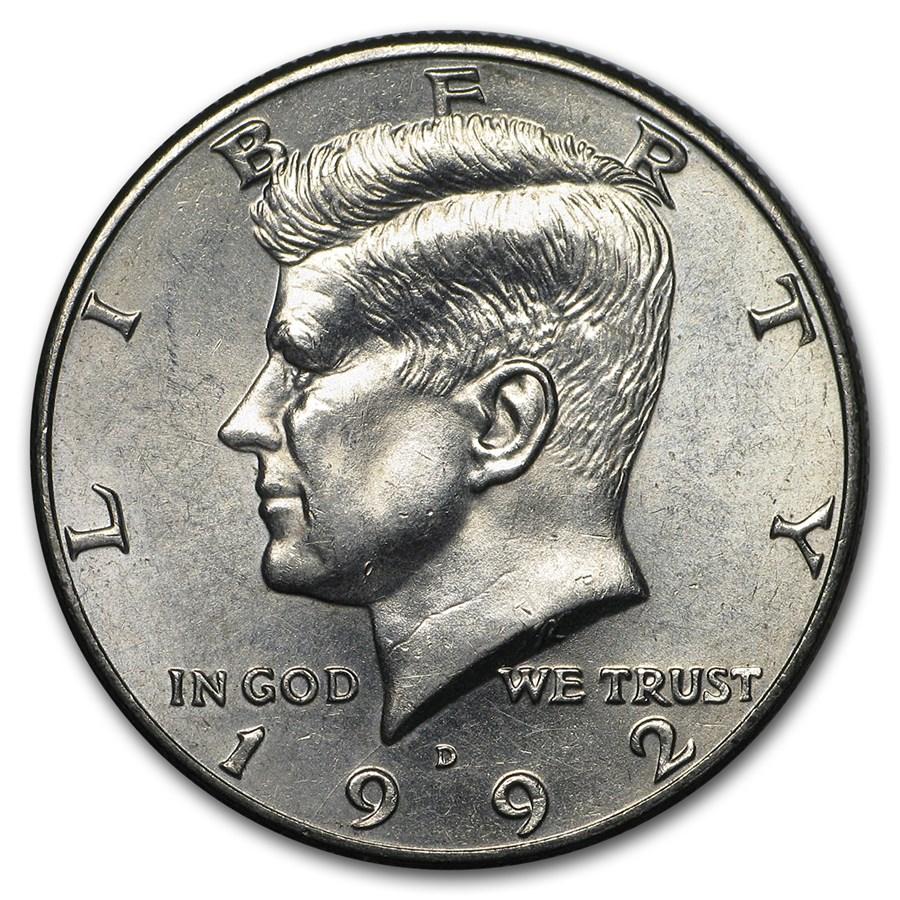 1992-D Kennedy Half Dollar BU